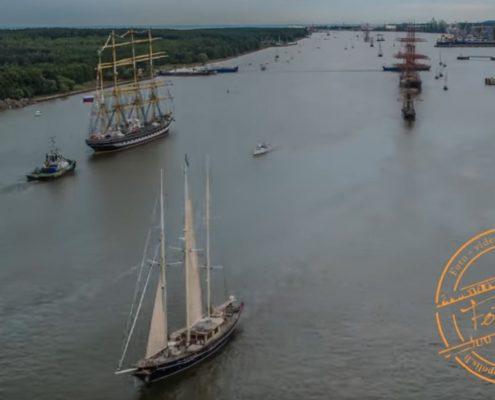 2017 08 01 The Tall Ships Race 2017 išlydėjimas TimeLapse | Fotopolis.lt