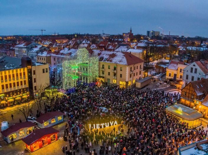 Klaipėdos šviesų festivaslis 2018 | Fotopols.lt