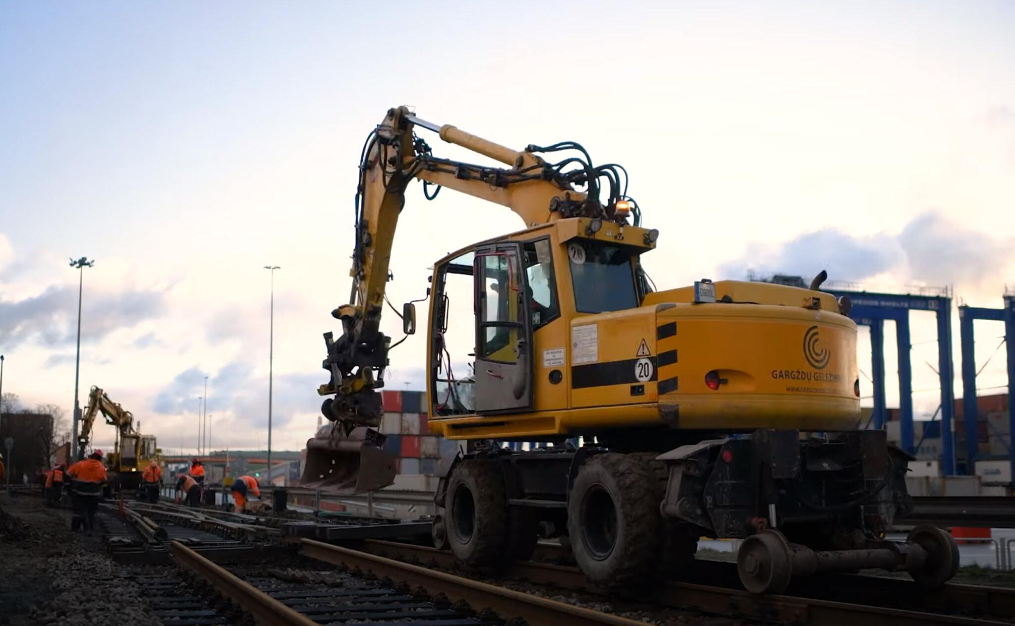 GG Rail - geležinkelio kelių ir infrastruktūros remontas | Fotopolis.lt